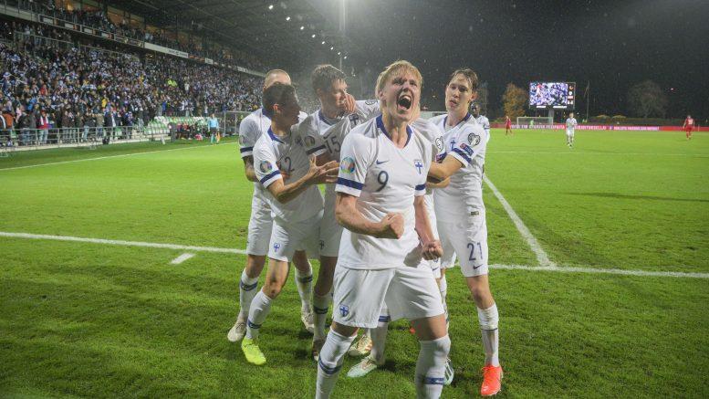 Suomi voitti Armenian 3-0.