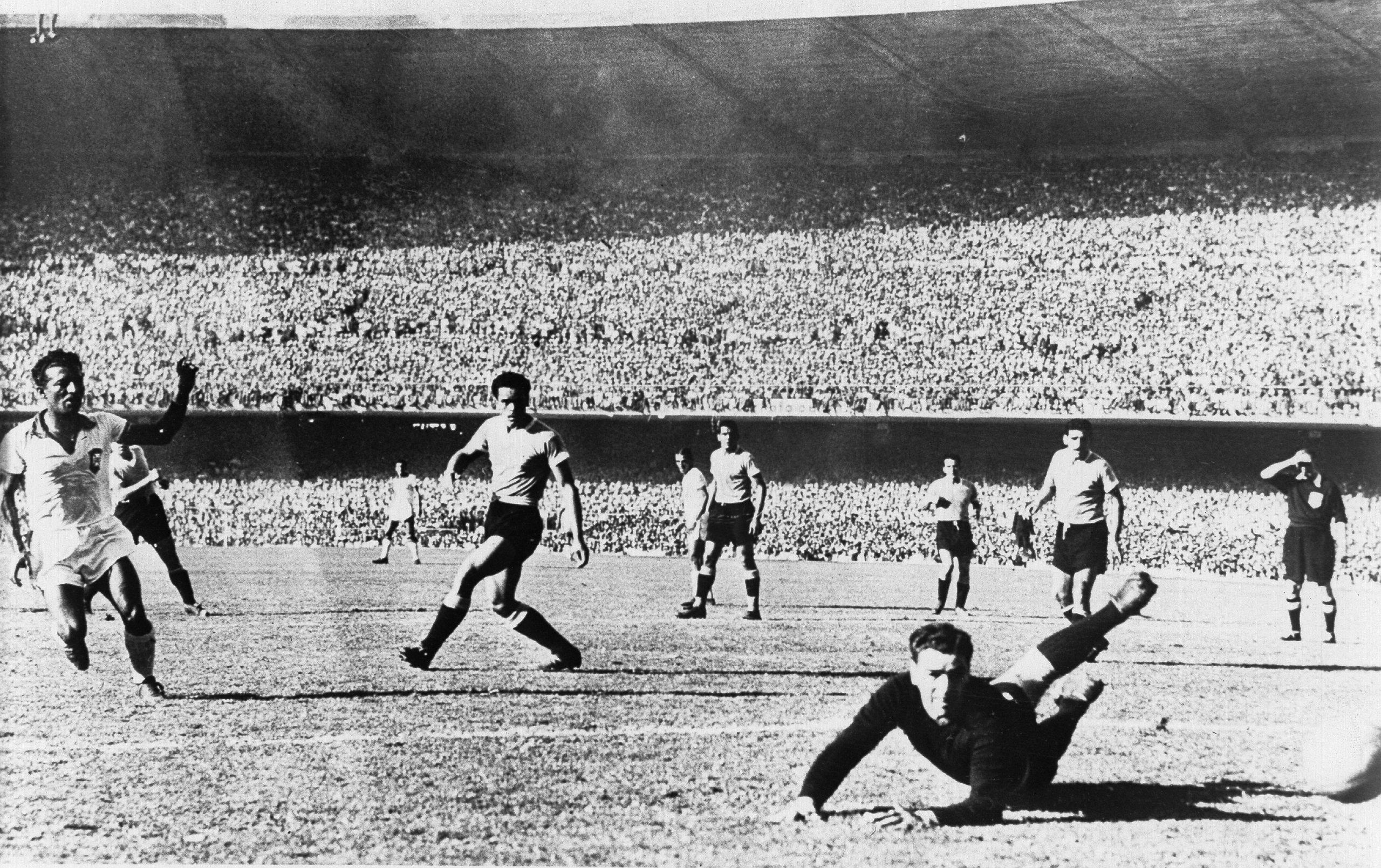 Uruguay voittaa vuoden 1950 maailmanmestaruuden