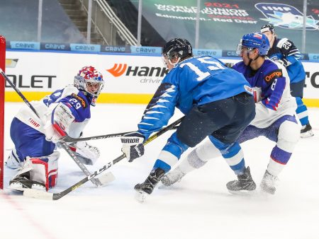 Nuoret Leijonat on mestarisuosikki Edmontonin MM-kisoissa – sen Slovakia-näytös osoitti