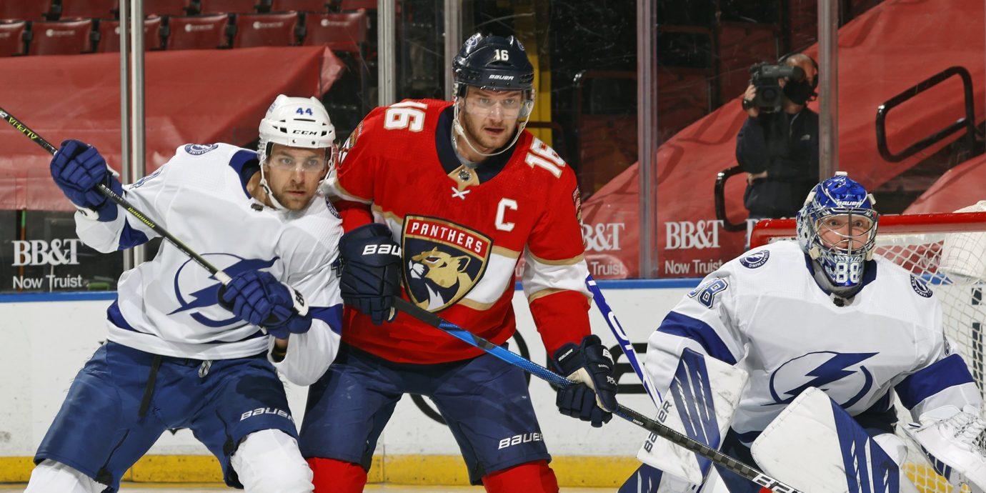 Aleksander Barkov on nostanut Florida Panthersin suosta yhdeksi NHL-kauden sensaatioista