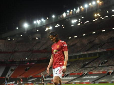 Edinson Cavani antaa Manchester Unitedille mahdollisuuden pelata Valioliigan mestaruudesta