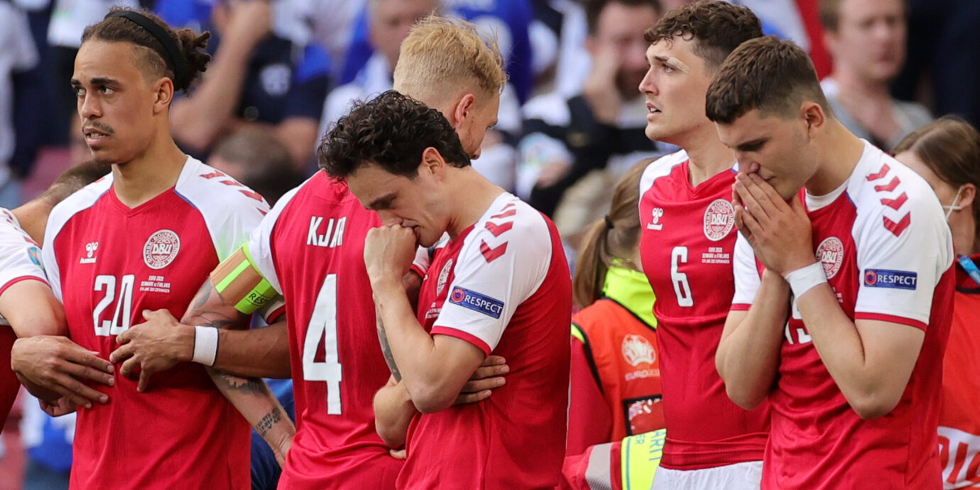 Tanska joutuu raastavan kovaan paikkaan Belgiaa vastaan niin pelillisesti kuin henkisesti