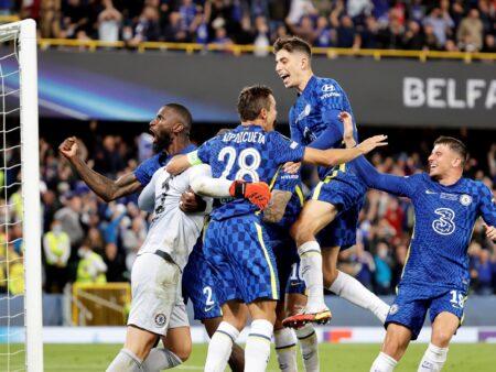 Chelsea on tällä hetkellä pelillisesti Manchester Cityn edellä ilman Romelu Lukakuakin