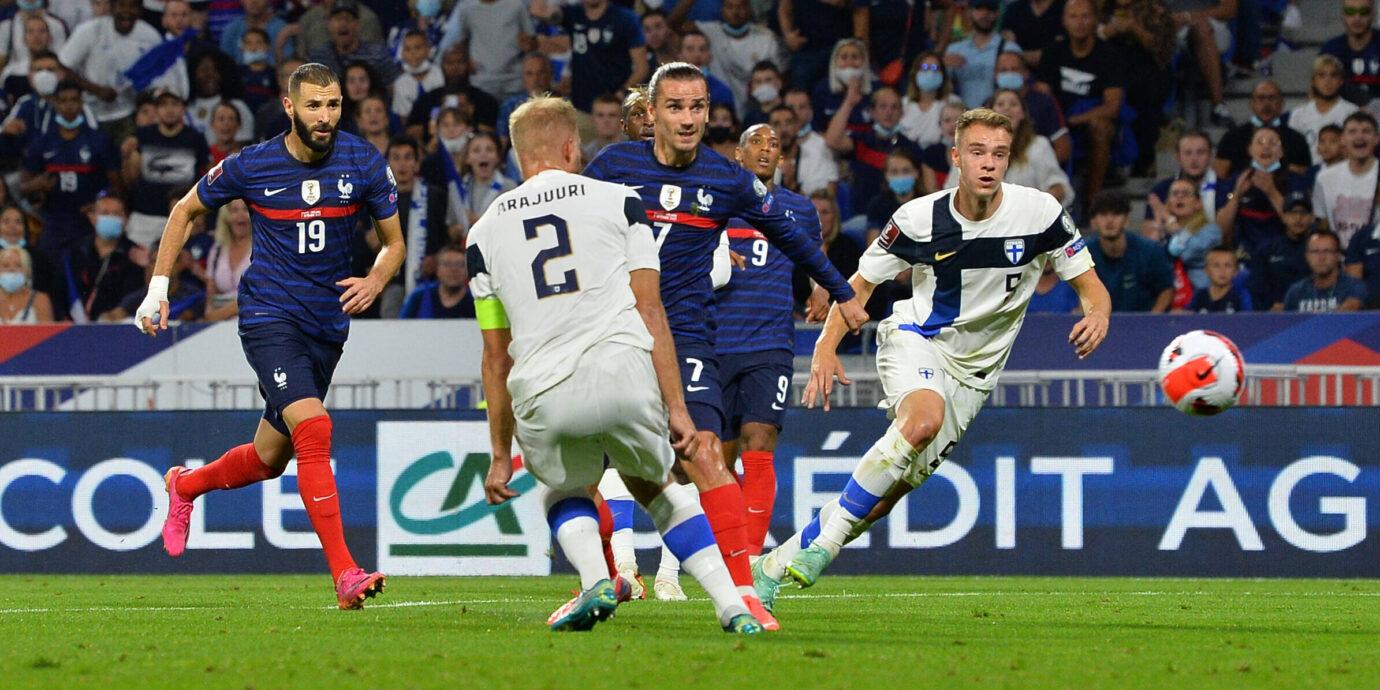 Ranska näytti, että jalkapallon supervallatkin kunnioittavat nykyään Suomea